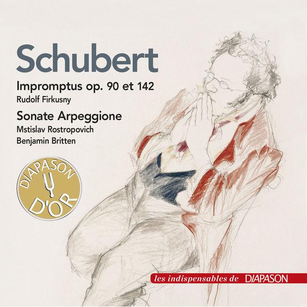 Rudolf Firkusny - Schubert: Impromptus Op. 90/142, Sonate arpeggione