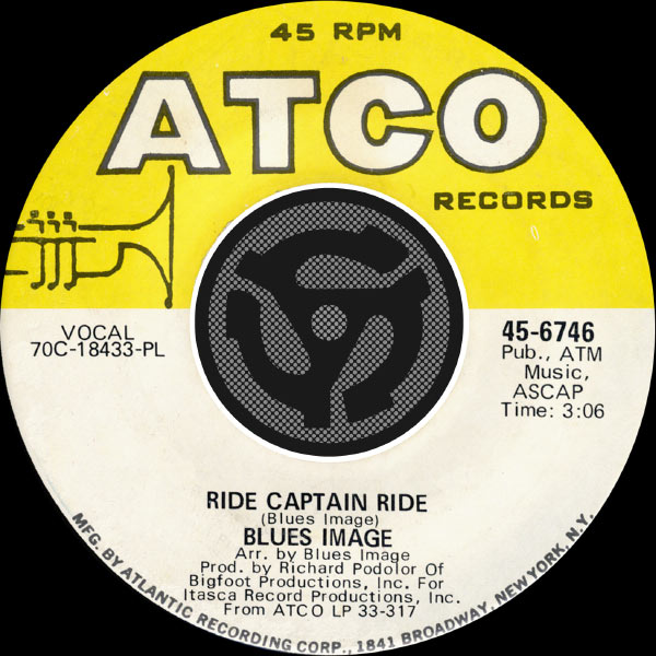 Blues Image - Ride Captain Ride / Pay My Dues [Digital 45]