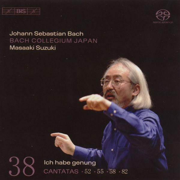 Masaaki Suzuki - Bach, J.S.: Cantatas, Vol. 38  - Bwv 52, 55, 82, 58