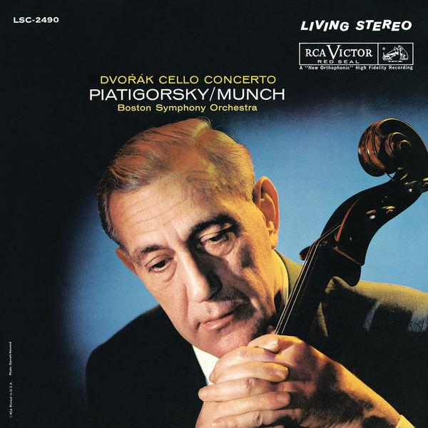 Gregor Piatigorsky - Dvorak: Cello Concerto in B Minor, Op. 104, B. 191