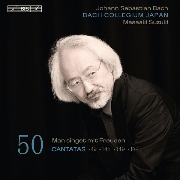 Masaaki Suzuki - Johann Sebastian Bach : Cantatas, Vol. 50 (BWV 49, 145, 149, 174)