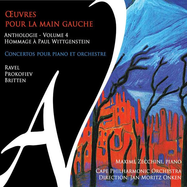 Maxime Zecchini - Œuvres pour la main gauche - Anthologie, Vol. 4 - Hommage à Paul Wittgenstein (Concertos pour piano et orchestre)