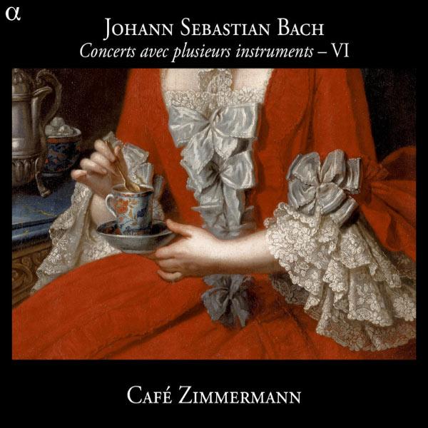 Café Zimmermann - Bach : Concerts avec plusieurs intruments - VI