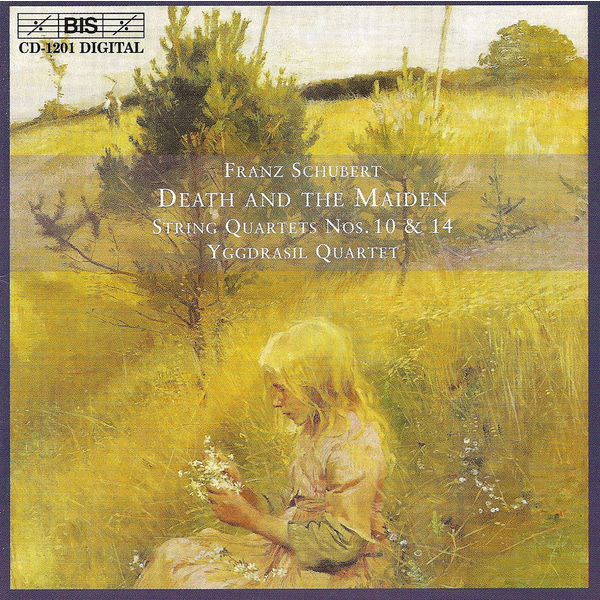"""Yggdrasil Quartet - SCHUBERT: String Quartets No. 10 and No. 14, """"Death and the Maiden"""""""