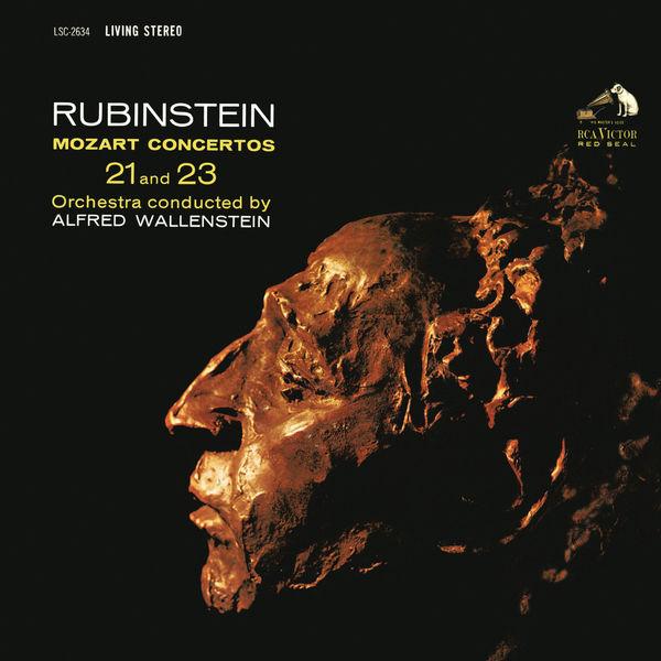 Arthur Rubinstein - Mozart: Piano Concerto No. 23 in A Major, K. 488 & Piano Concerto No. 21 in C Major, K. 467