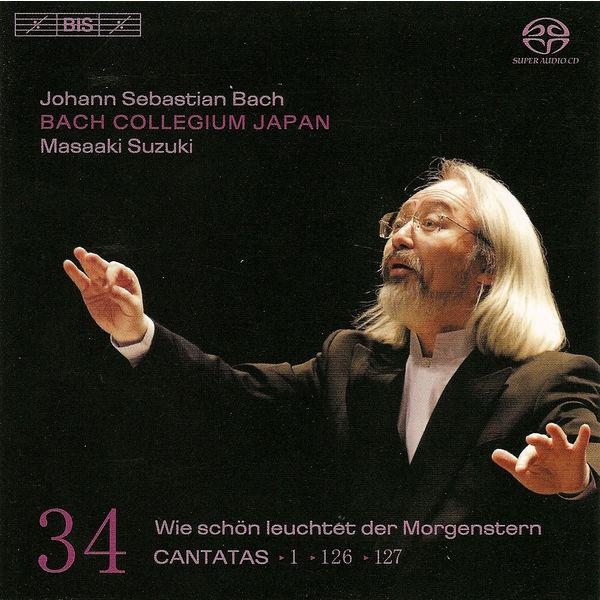 Masaaki Suzuki - BACH, J.S.: Cantatas, Vol. 34 (Suzuki) - BWV 1, 126, 127