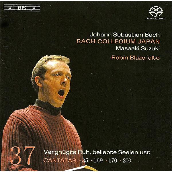 Robin Blaze - BACH, J.S.: Cantatas, Vol. 37 (Suzuki) - BWV 35, 169, 170, 200