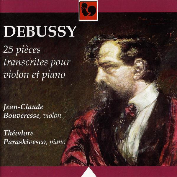 Claude Debussy - Debussy: Le petit nègre, L. 114 - Children's Corner, L. 113 - Petite suite, L. 65 - 25 Pièces transcrites pour violon et piano (Debussy: 25 Pieces transcribed for Violin and Piano)
