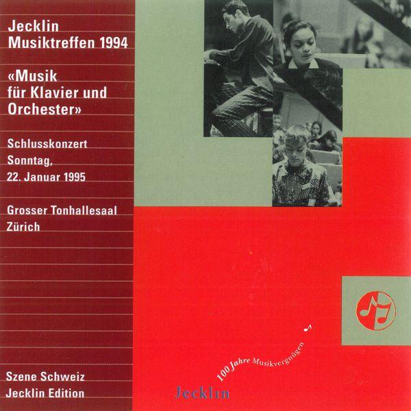 Francesco Piemontesi - Jecklin Musiktreffen 1994