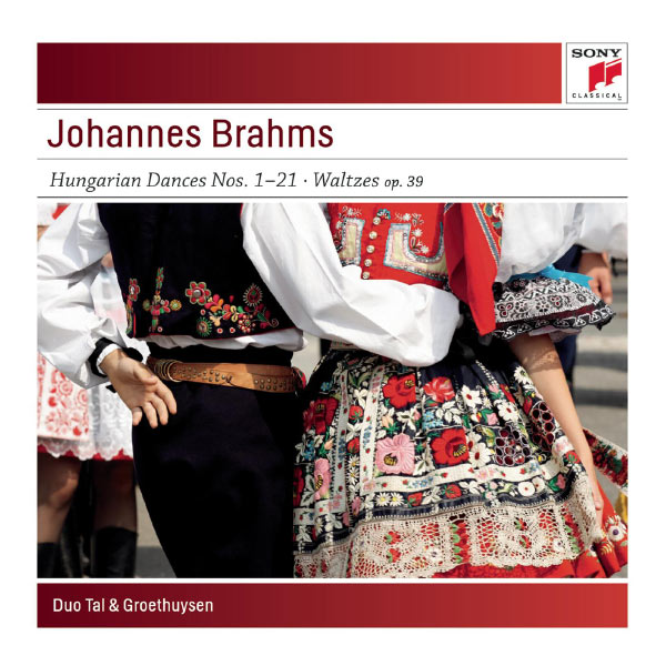 Yaara Tal - Brahms:  Hungarian Dances No. 1-21; Waltzes, Op. 39 for Piano for Four Hands