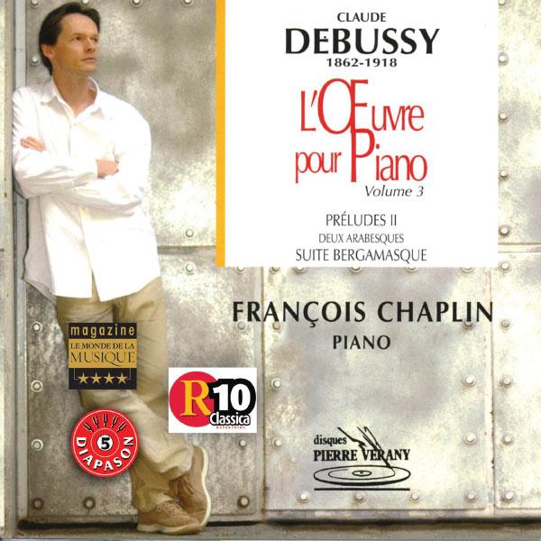 François Chaplin - Ouvres pour piano - Volume 3