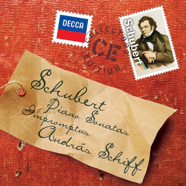 Andras Schiff - Schubert:  Piano Sonatas; Impromptus