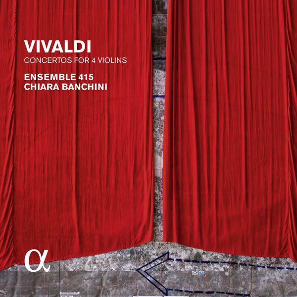 Chiara Banchini - Vivaldi : Concertos for 4 Violins (Alpha Coll.)