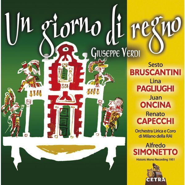 Alfredo Simonetto - Cetra Verdi Collection: Un giorno di regno (Il finto Stanislao)
