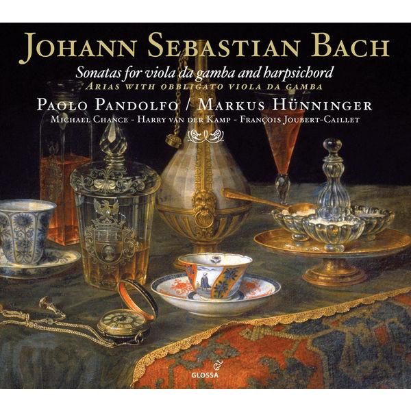 Paolo Pandolfo - Johann Sebastian Bach : Sonates pour viole de gambe et clavecin
