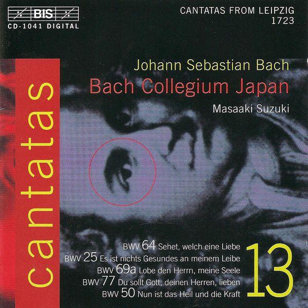 Masaaki Suzuki - BACH, J.S.: Cantatas, Vol. 13 (Suzuki) - BWV 25,  50, 64, 69a, 77