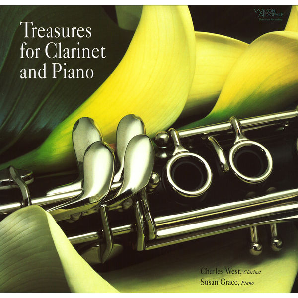 Charles West - Treasures for Clarinet & Piano
