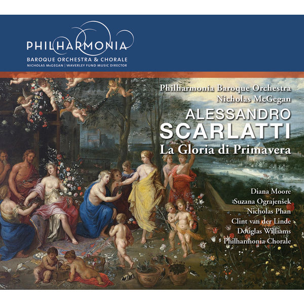 Nicholas McGegan - A. Scarlatti : La gloria di primavera