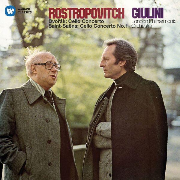 Mstislav Rostropovich - Dvorák: Cello Concerto - Saint-Saëns: Cello Concerto No. 1