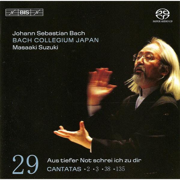 Masaaki Suzuki - BACH, J.S.: Cantatas, Vol. 29 (Suzuki) - BWV 2, 3, 38, 135
