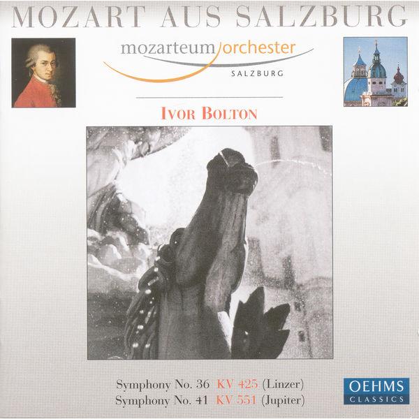 """Ivor Bolton - Mozart, W.A.: Symphonies Nos. 36, """"Linz"""" and 41, """"Jupiter"""""""