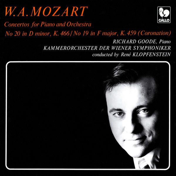 Richard Goode - Mozart: Piano Concerto No. 20 in D Minor, K. 466 - Piano Concerto No. 19 in F Major, K. 459