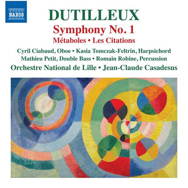 Jean-Claude Casadesus - Dutilleux : Symphony No. 1 - Métaboles - Les citations