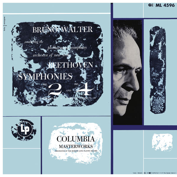 Bruno Walter - Beethoven: Symphonies 2 & 4 (Remastered)