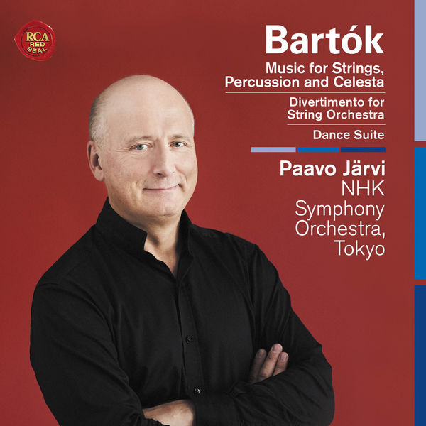 Paavo Järvi - Bartók: Music for Strings, Percussion and Celesta, Divertimento for String Orchestra, Dance Suite
