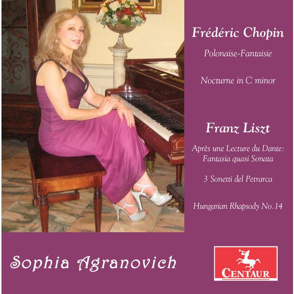 Sophia Agranovich - Chopin & Liszt: Piano Works
