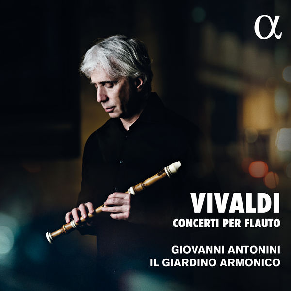 Giovanni Antonini - Vivaldi : Concerti per flauto