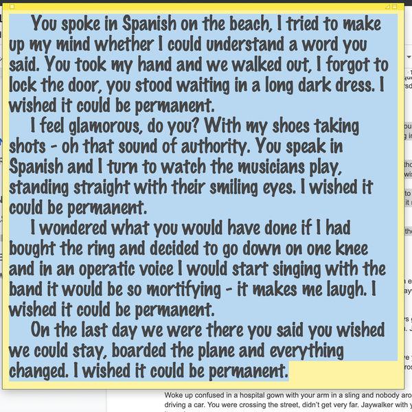 Andy Shauf|Spanish On The Beach