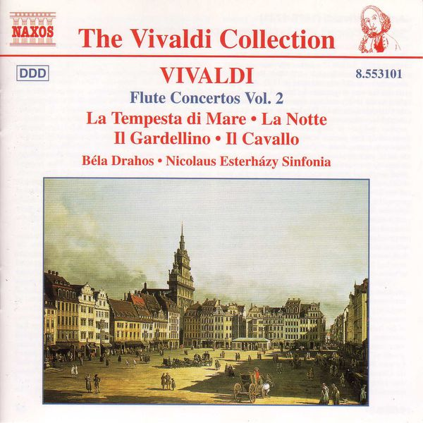 Béla Drahos - Flute Concertos, Vol.  2