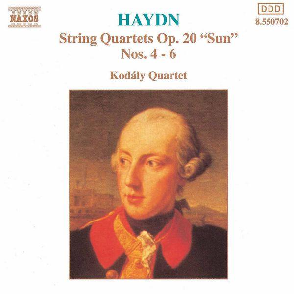 Kodaly Quartet - HAYDN: String Quartets Nos. 23, 24 and 27, 'Sun Quartets'