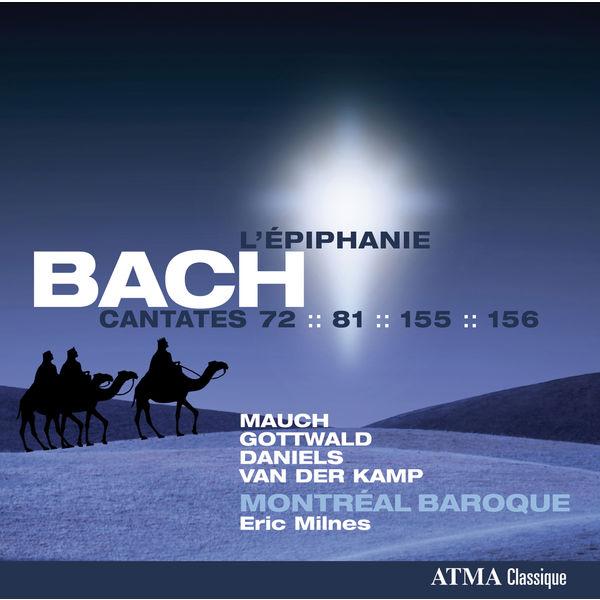Charles Daniels - Bach: Cantatas BWV 72, 81, 155 & 156