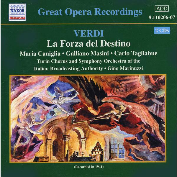 Maria Caniglia - Forza del Destino (La) (Tagliabue, Caniglia) (1941)
