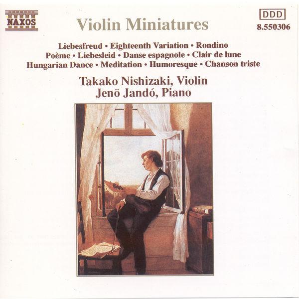 Takako Nishizaki - Violin Miniatures