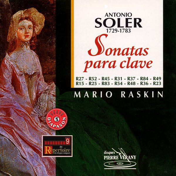 Mario Raskin - Soler : Sonatas para clave