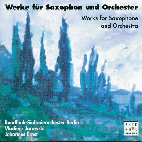 Vladimir Jurowski - D'Indy/Schmitt/Tomasi/Milhaud/Debussy: Saxophone Concertos
