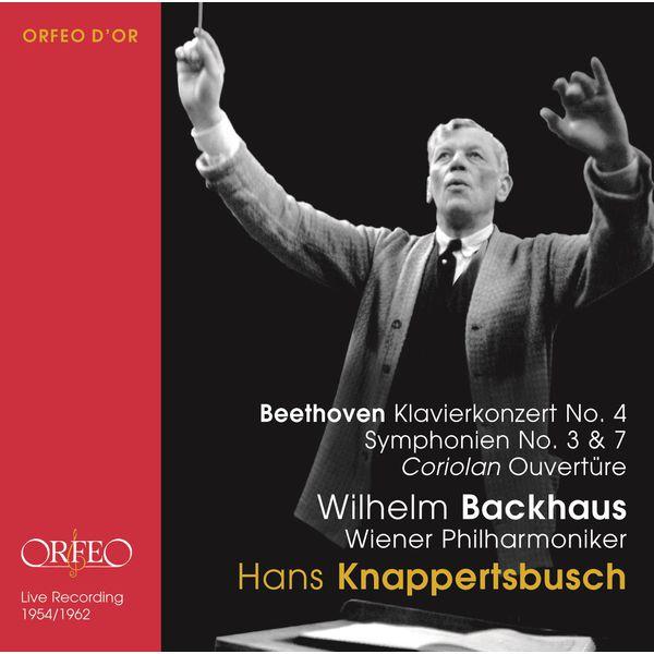 Wilhelm Backhaus - Beethoven : Orchestral Works (Live)