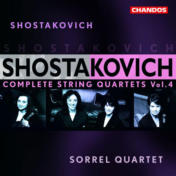 Quatuor Sorrel - Intégrale des quatuors à cordes Vol. 4
