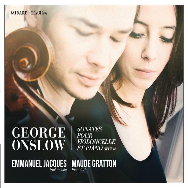 Emmanuel Jacques - George Onslow : Sonates violoncelle & piano, Op.16