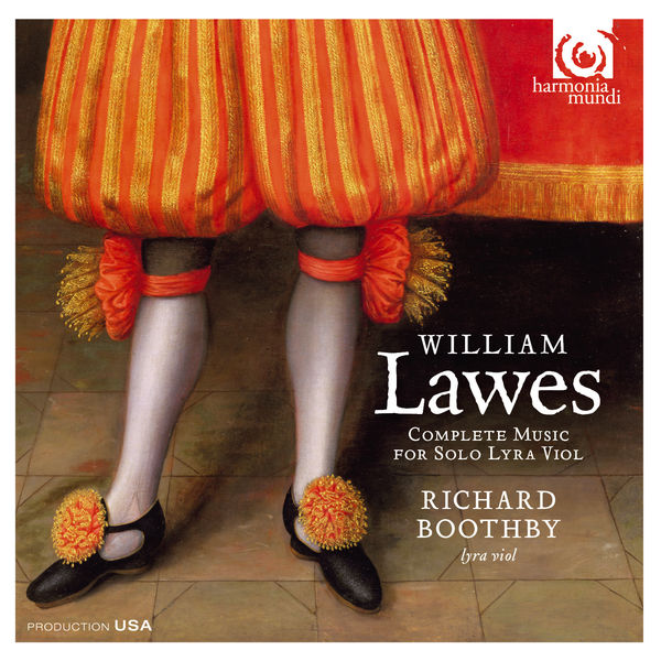 Richard Boothby - Lawes : Complete Music for Solo Lyra Viol