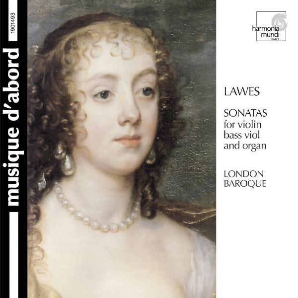London Baroque - Lawes: Sonatas for violin, bass viol & organ