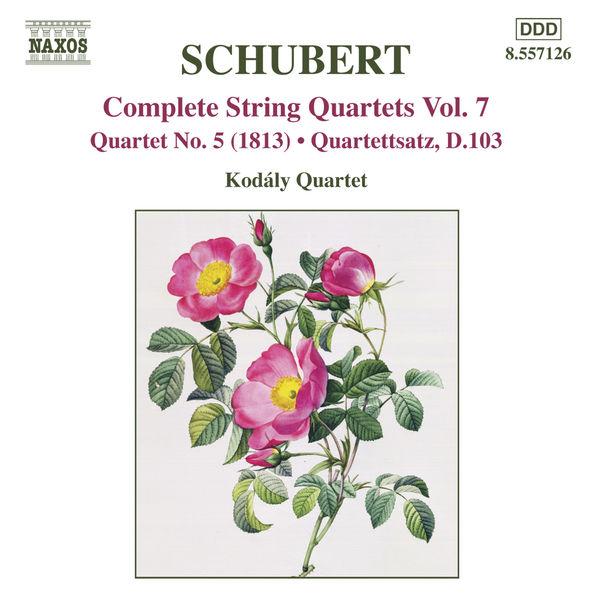 Kodaly Quartet - Quatuors à cordes (Intégrale, volume 7)