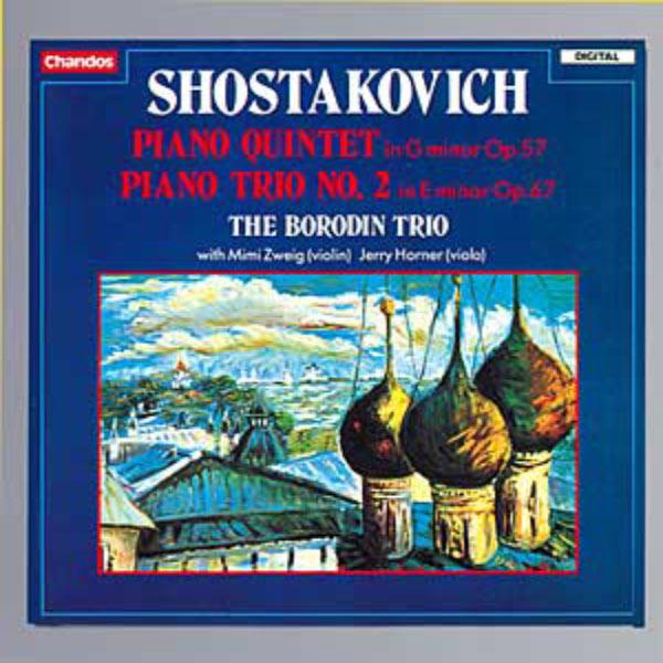 Borodin Trio - Quintette & Trio pour piano