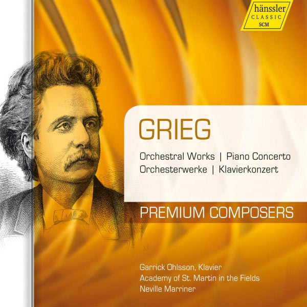 Sir Neville Marriner - Grieg: Orchestral Works - Piano Concerto