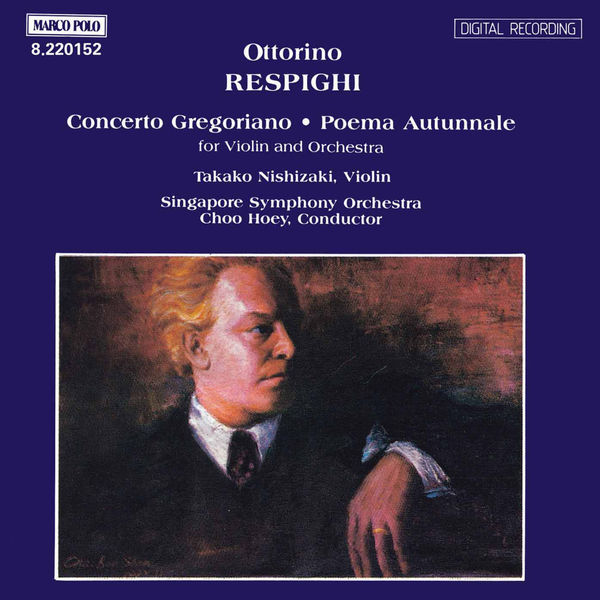 Takako Nishizaki - RESPIGHI: Concerto Gregoriano / Poema Autunnale