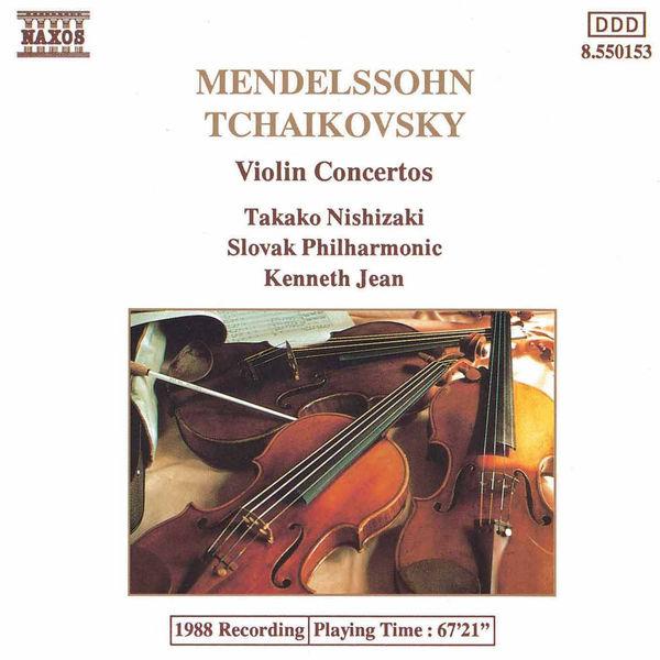 Takako Nishizaki - Mendelssohn: Violin Concerto in E Minor - Tchaikovsky: Violin Concerto in D Major