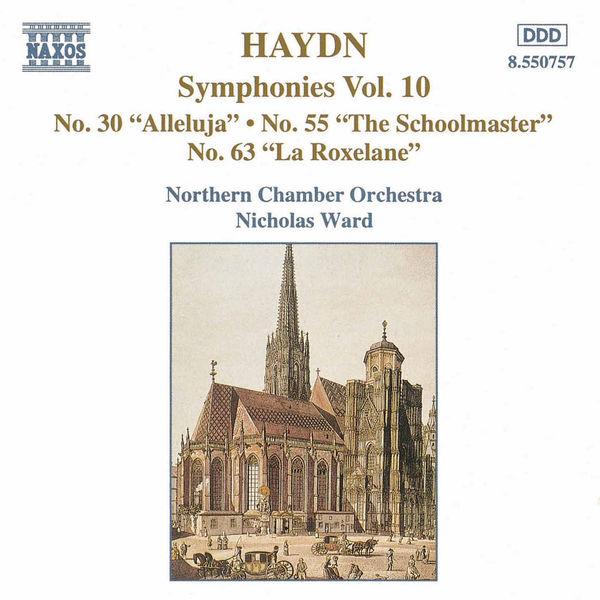 Nicholas Ward - Symphonies (Volume 10)
